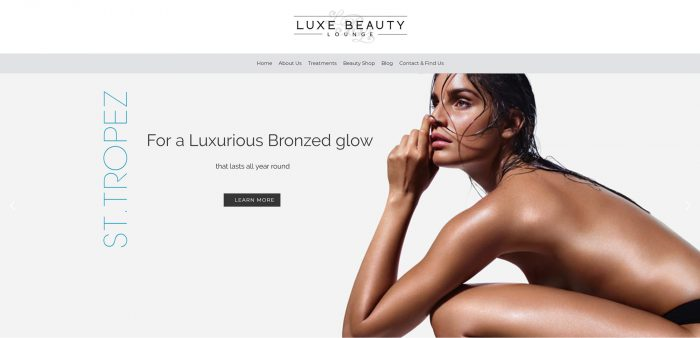 Luxe-Beauty-Lounge-homepage